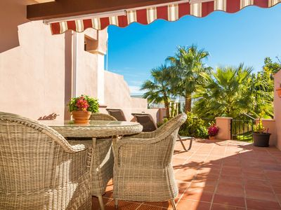 Photo for Lovely house with amazing terrace, pool and sea views - Cipreses Canovas (6)