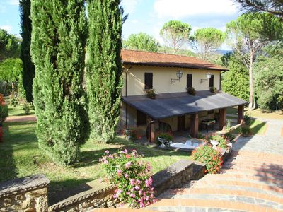 Photo for This is a wonderful property immersed in the green hills of Casentino Villa