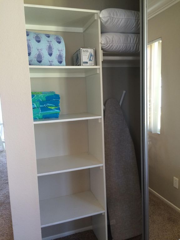 Extra Closet Space For All Your Things!
