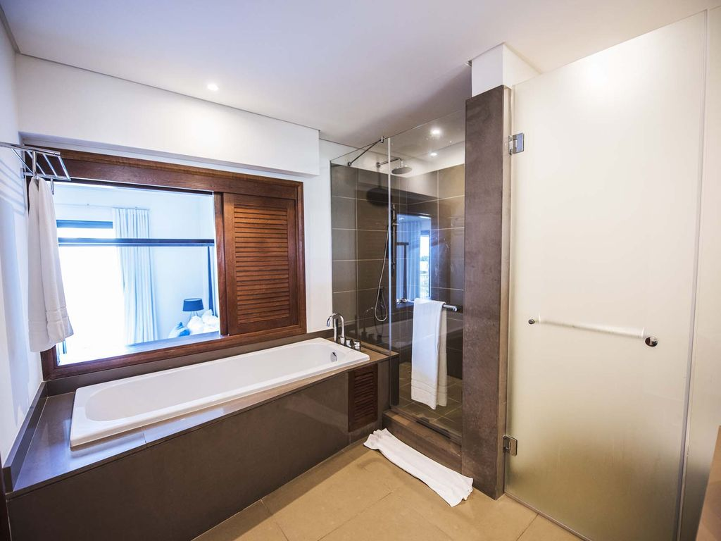 Azuri Suite: Beautiful 4BR Suite with pool in Azuri at Roches Noires on top designer bathrooms, philippe starck bathrooms, interior kitchens, house beautiful bathrooms, interior decorating,