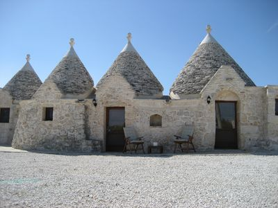 Photo for Lovely Countryside Trullo With Private Swimming Pool, WiFi & Covered Dining Area