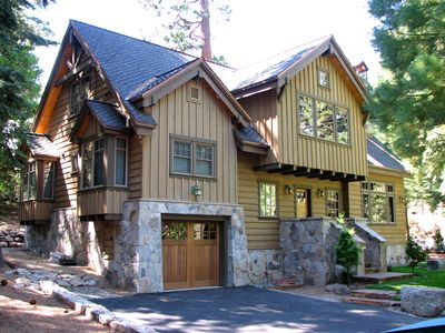 Photo for Custom Tahoe Cabin near Squaw Valley, Tahoe City and Lake Tahoe