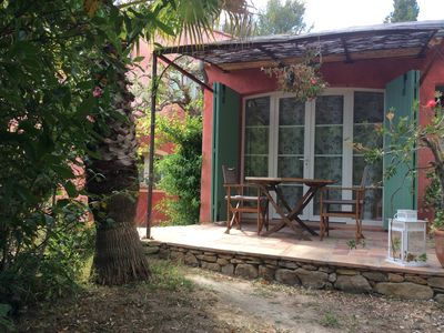 Photo for STUDIO WITH INDEPENDENT GARDEN AND TERRACE WITH ACCESS TO SWIMMING POOL
