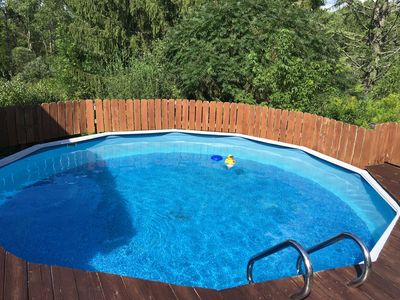 Kids just love this! nothing like Pool Access in the Summer!