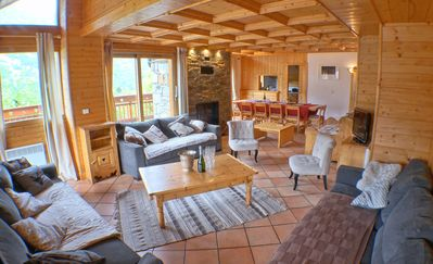Photo for Beautiful Chalet with services | 14 p | Heart of Méribel