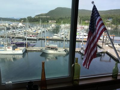 Photo for Auke Bay Harbor view house