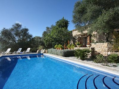 Photo for Beautiful rustic house with pool with panoramic views and ponies