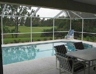 South-Facing Pool with Golf Course View