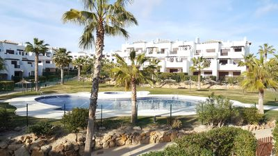 Photo for Apartment Pueblo Salinas K, 2 terraces with view over the swimming pools, WIFI