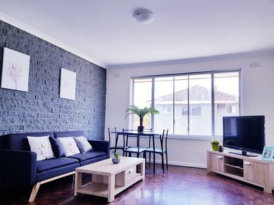 Photo for 8 minutes Walk to clayton train station, close to monash medical center.