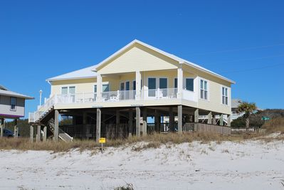 As seen on HGTV's My Lottery Dream Home! Gulf front home 3BR/3BA  - Surf  Side Shores