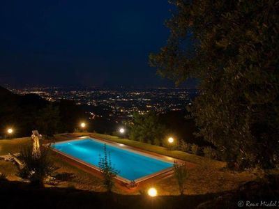 Photo for Elegant Villa near Lucca with big and panoramic garden and private pool
