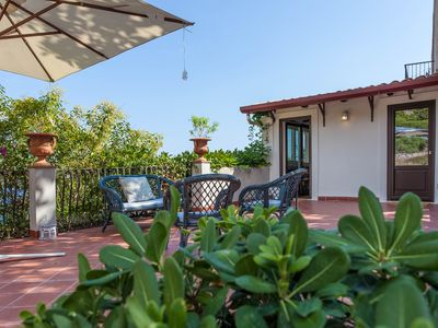 Photo for Cozy Villa on the Taormina seafront