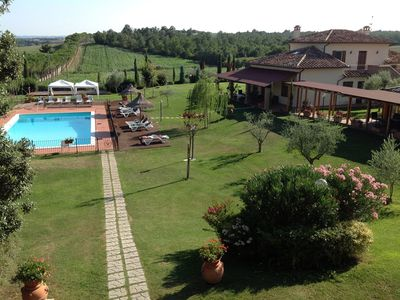 Photo for 13 bedroom Villa, sleeps 34 with Pool, Air Con and FREE WiFi