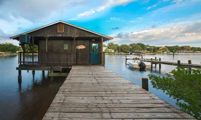 Photo for The BoatHouse on the Hillsborough River- Enjoy river and downtown water views