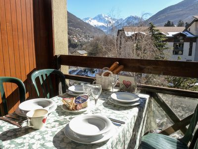 Photo for Cozy studio, bright, view Vanoise - Thermal cure and ski 3 Valleys