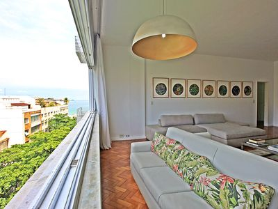 Photo for Rio Arpoador Spot with beautiful views of the beach and exclusive coop!