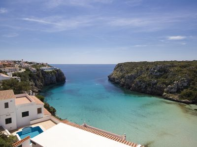Photo for Casa M is a cliff side villa with a private pool and amazing sea views