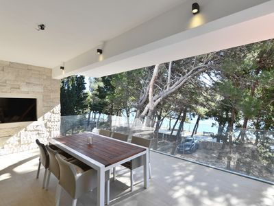 Photo for 5* luxury apartment in Bol on a promenade to Zlatni rat - prime  location