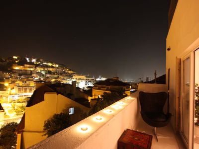 Photo for TravelingToLisbon 335 - Low: 3-room apartment with views of the Castle