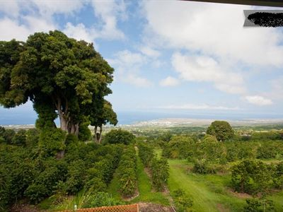 Lanai Ocean View - Kona Coast, Hawaii Farmhouse