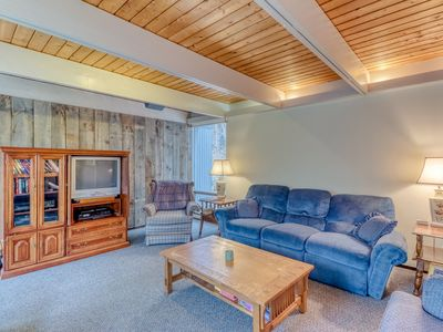 Photo for NEW LISTING! Dog-friendly home w/mountain views & private sauna, close to skiing