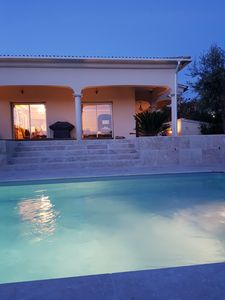 Photo for Villa with Pool for 8 people in Porticcio in a quiet and green residence