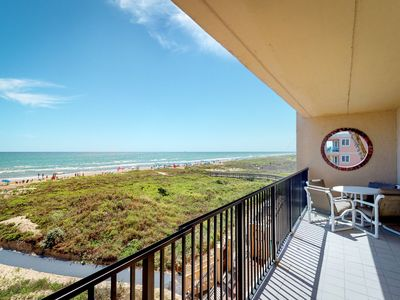Photo for NEW LISTING! Spacious, waterfront condo w/ shared pool, hot tub, & tennis