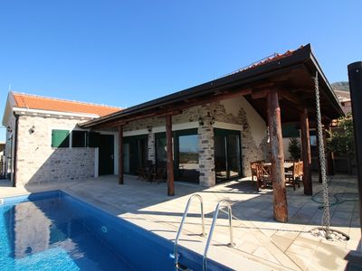 Photo for VILLA SELLISTA WITH SPECTACULAR SEA VIEWS AND PRIVATE POOL
