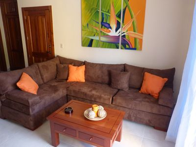 Estrella del Mar tropical comfort 2 bedrooms / 2 bathrooms Bavaro Beach: beach 5 min. walk