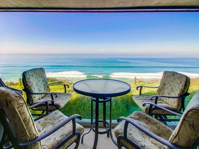 Photo for Ocean View Luxury Surf Condo with Pool, Elevator, Steps to Beach
