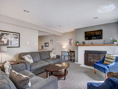 Photo for FREE SkyCard Activities - Remodeled 2-Level Condo, Ski-In, Outdoor Pool/Hot Tubs - Lances West 2