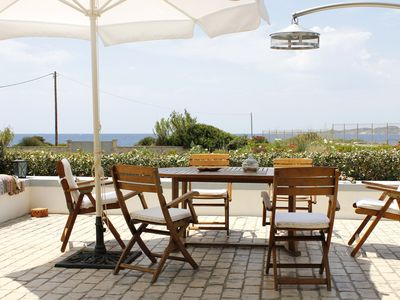 Photo for Villa Penelope 15m from sea with privet beach