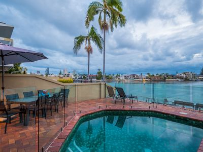 Photo for Riverfront Villa Surfers Paradise - Prime Location - Superbly Appointed