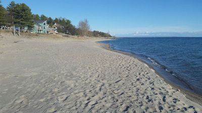 Beach, 3 minute walk from cottage
