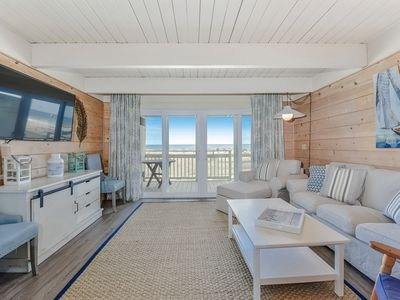 Photo for Beautifully Renovated Rare 4 Bedroom Oceanfront Townhome!