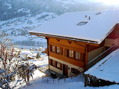 Photo for Apartment 789 m from the center of Grindelwald with Internet, Parking, Balcony, Washing machine (44497)
