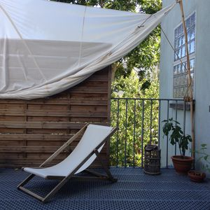 Photo for Loft with terrace over gardens - Montreuil