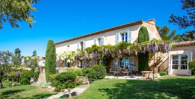 Photo for Rosc,  fabulous refurbished 6-bdrm Provencal farmhouse, swimming pool