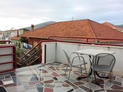 Photo for One bedroom apartment with terrace and sea view Trogir