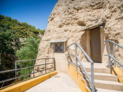Photo for Cave Hotel - Junior Suite Cave of Bardenas 2-4 people