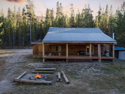Photo for KABINO: Near Yellowstone! Easy Access and Secluded! Sleeps 20... 5 Stars!