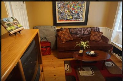 Den/Office/2nd bedroom, has closets, desk, printer, sofabed