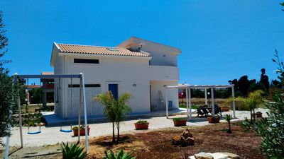Photo for VILLA ON THE SEA IN VAL DI NOTO