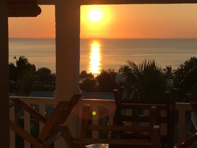 Photo for Charming furnished with panoramic sea view 500m from the Saint-Leu lagoon