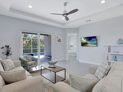 Photo for 1 Mile to Vanderbilt Beach & Mercato's Fine Dining & High End Shopping, 3 Bed/3 Full Bath Home!