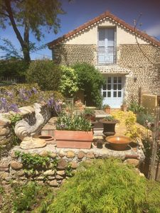 Photo for 3 bedroom rural stone gite with salt pool set in lovely gardens