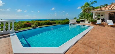 Villa Mer Soleil  -  Ocean View - Located in  Exquisite Terres Basses with Private Pool