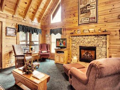 Photo for Remaining April Dates 50%..5 BR w/ WiFi,Hot Tub,Game Room, Fitness Machine, More