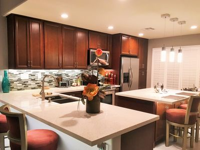Fully -Equipped Kitchen with Everything You'd Need to Prepare a Fabulous Meal!